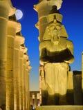 Coloso de Ramses Imagen de archivo libre de regalías