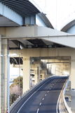 Motorway flyover access Royalty Free Stock Photos