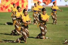 Colossal Dance History The establishment of Surakarta Stock Photo