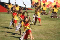 Colossal Dance History The establishment of Surakarta Stock Photography
