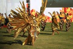 Colossal Dance History The establishment of Surakarta Royalty Free Stock Photography