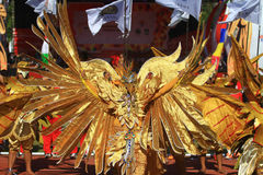 Colossal Dance History The establishment of Surakarta Stock Image