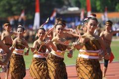 Colossal Dance History The establishment of Surakarta Royalty Free Stock Photos