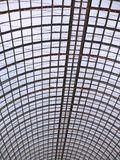 Colossal glass roof. Colossal glass and metal roof Royalty Free Stock Images