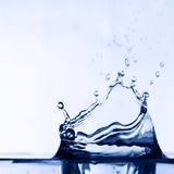Colossal water splash Stock Images