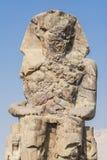 Colosse de Memnon, statue de pharaon Amenhotep III, Louxor Images libres de droits