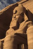 Colosse de Rameses II, figure posée Photo stock
