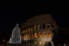 Colosseo,大剧场在罗马 库存照片