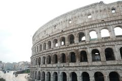 Colosseo от снаружи Стоковое Фото