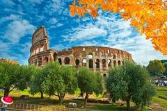 Colosseo, Рим, Италия Стоковое Изображение