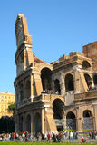 Sectional view of Colosseum Royalty Free Stock Photo