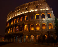 Colosseo all'alba, Roma, Italia Fotografia Stock