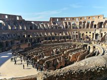Colosseo Anfiteatro, Rome royalty-vrije stock afbeelding