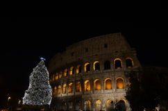 Colosseo, Coliseum στη Ρώμη Στοκ Φωτογραφίες