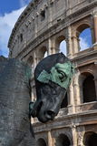 Colosseo - Colosseum. Roman archietcture in Rome Stock Photography