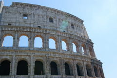 Colosseo Corner Stock Photo