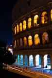 Colosseo de grootste architectuur bouw van Rome en alle roman imperiumjaren stock foto's