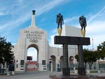 Colosseo del memoriale di Los Angeles Fotografia Stock Libera da Diritti