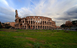 Colosseo di natale immagini stock libere da diritti