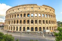 Colosseo flyg- sikt Arkivfoton