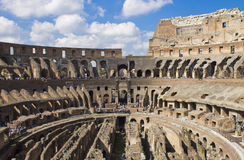 Coliseum inside Royalty Free Stock Images