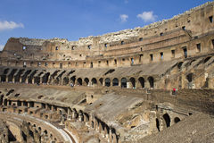 Coliseum inside Stock Photography