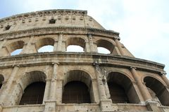 Colosseo, the main attractions of Rome Stock Photos