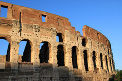 Colosseo n.8. Famous old great Colosseum in Rome, Italy Royalty Free Stock Images