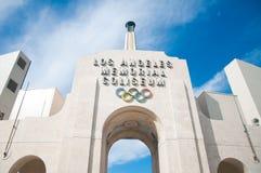 Colosseo olimpico di Los Angeles Immagini Stock Libere da Diritti