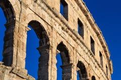 Colosseo Pola Fotografia Stock Libera da Diritti