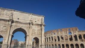Colosseo przy Roma Zdjęcia Stock