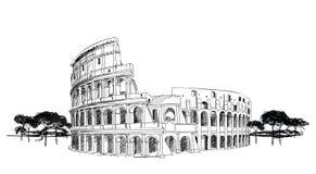 Colosseo a Roma, Italia Fotografie Stock Libere da Diritti
