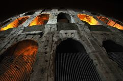 Colosseo, Roma, Italia fotografie stock