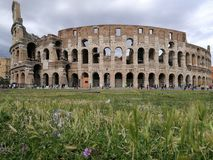 Colosseo Roma Italia fotografie stock