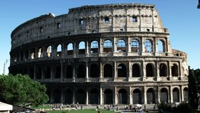 Colosseo, Roma, Italia, l'antichità dell'Italia archivi video