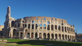 Colosseo at Roma. Italy Royalty Free Stock Images
