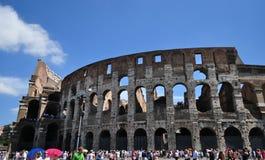 Colosseo a Roma L'Italia Fotografia Stock