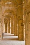 Colosseo romano al EL Djem Immagini Stock Libere da Diritti