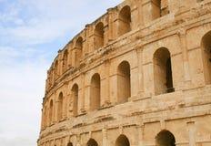 Colosseo romano in Tunisia Fotografia Stock Libera da Diritti