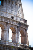 Colosseo, Rome. Detail of the Colosseo in Rome, Italy Royalty Free Stock Images