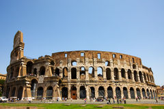 Colosseo in Rome Royalty Free Stock Photos