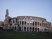 Colosseo, Rome Royalty-vrije Stock Afbeeldingen