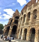 Colosseo in Rome. Ruins of great stadium Colosseum, Rome, Italy Royalty Free Stock Images
