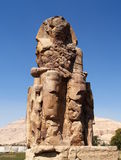 Colosses de Memnon Photographie stock
