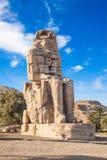 Colosses de Memnon Photo stock