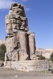 Colosses de Memnon et d'Amenhotep III Image libre de droits