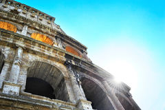 Colosseu wall Royalty Free Stock Photography