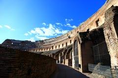 colosseum内部罗马 免版税库存图片