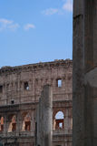 Colosseum圆形露天剧场在罗马,意大利。 免版税库存照片