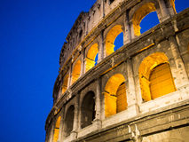 Colosseum在罗马 免版税库存照片